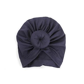 Kids Baby Turban Cotton Beanie Hat