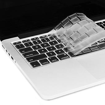 2Pcs toetsenbord beschermers eu ons Engels toetsenbord huid voor macbook waterdichte huid film