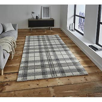 Wellness 6630 Cream Light Grey  Rectangle Rugs Plain/Nearly Plain Rugs