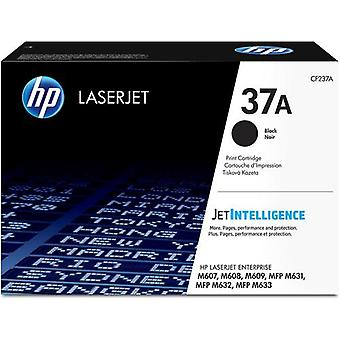 HP 37A Original Black LaserJet Toner Cartridge, 11000 Pages, Black, 1 piece