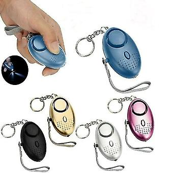 Home automation kits alarm personal panic rape attack safety security alarm emergency self-defense 140db purple