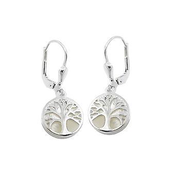 Leverback Earrings Tree Pearl Silver 925 39640 39640 39640