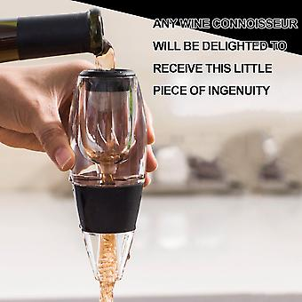 mini rødvin lufter helle tut filter essensiell vin rask lufting sett