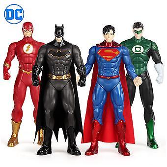 Dc Figur / superhelt Modell / Batman Figur / supermann Figur / grønn Lanterne Figur / Flash Figur / figur Leketøy