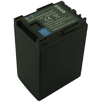 Dot.Foto BP-827 PREMIUM Remplacement De remplacement Batterie Camcorder rechargeable (100% COMPATIBLE) pour Canon - 7.4v / 2800mAh [Voir description de la compatibilité]