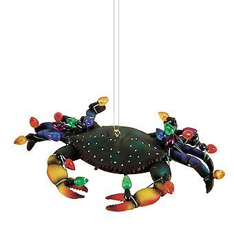 Grillige blauwe krab ingericht voor Vakantiewoningen Kerstboom Ornament