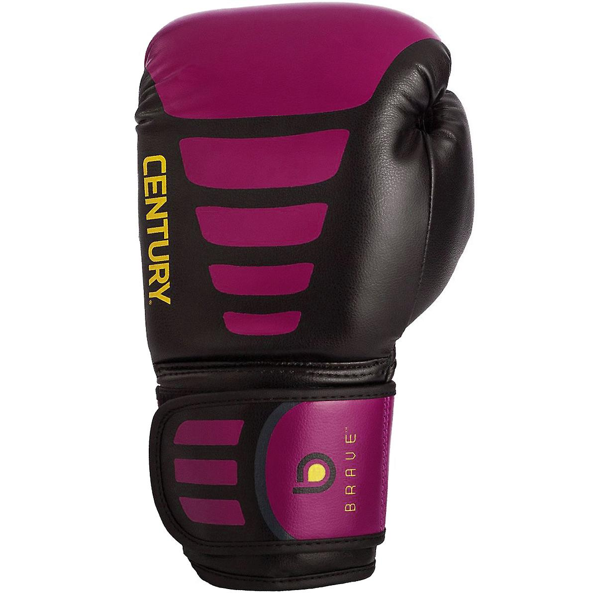 Black//Pink Century Women/'s Brave Hook and Loop Training Boxing Gloves