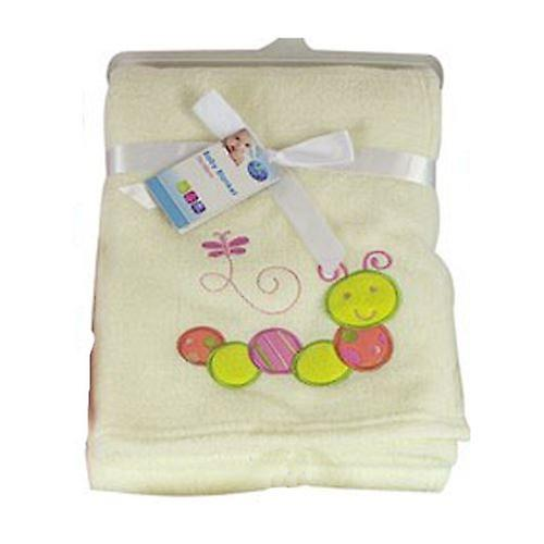 First Steps Supersoft Fleece Baby Blanket 75x100cm FS412