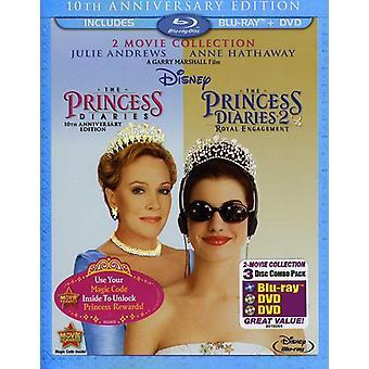 Princess Diaries/Princess Diaries 2: Royal intéressem [BLU-RAY] USA import