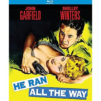 He Ran All the Way [BLU-RAY] USA import