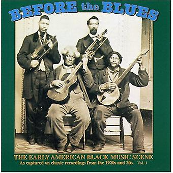 Before the Blues - Before the Blues: Vol. 1-Early American Black Mu [CD] USA import