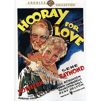 Hooray for Love (1935) [DVD] USA import