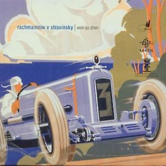 Rachmaninoff/Stravinsky - Rachmaninoff V. Stravinsky [CD] USA import