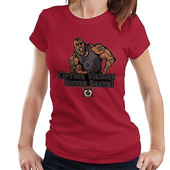 Liftin Vikingen scheren nooit vrouwen T-Shirt