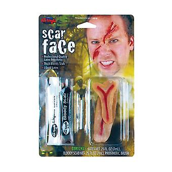 Ansiktet arr FX Kit