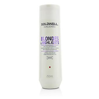 Dual Senses Blondes & Highlights Anti-yellow Shampoo (luminosity For Blonde Hair) - 250ml/8.4oz