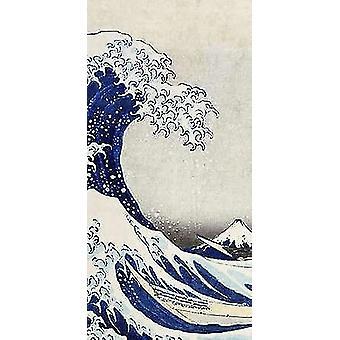 Die große Welle von Kanagawa Poster Print von Hokusai