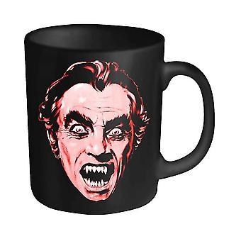 Count Yorga Mug Head Vintage Horror Logo Official Black 11fl oz Ceramic Boxed