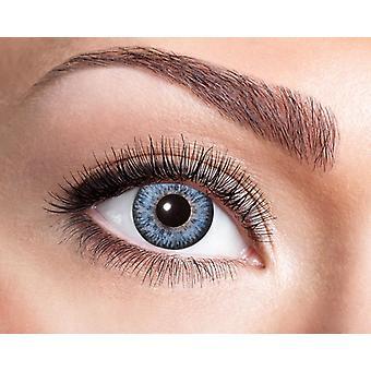 Padrão de lente de contato natural como penas