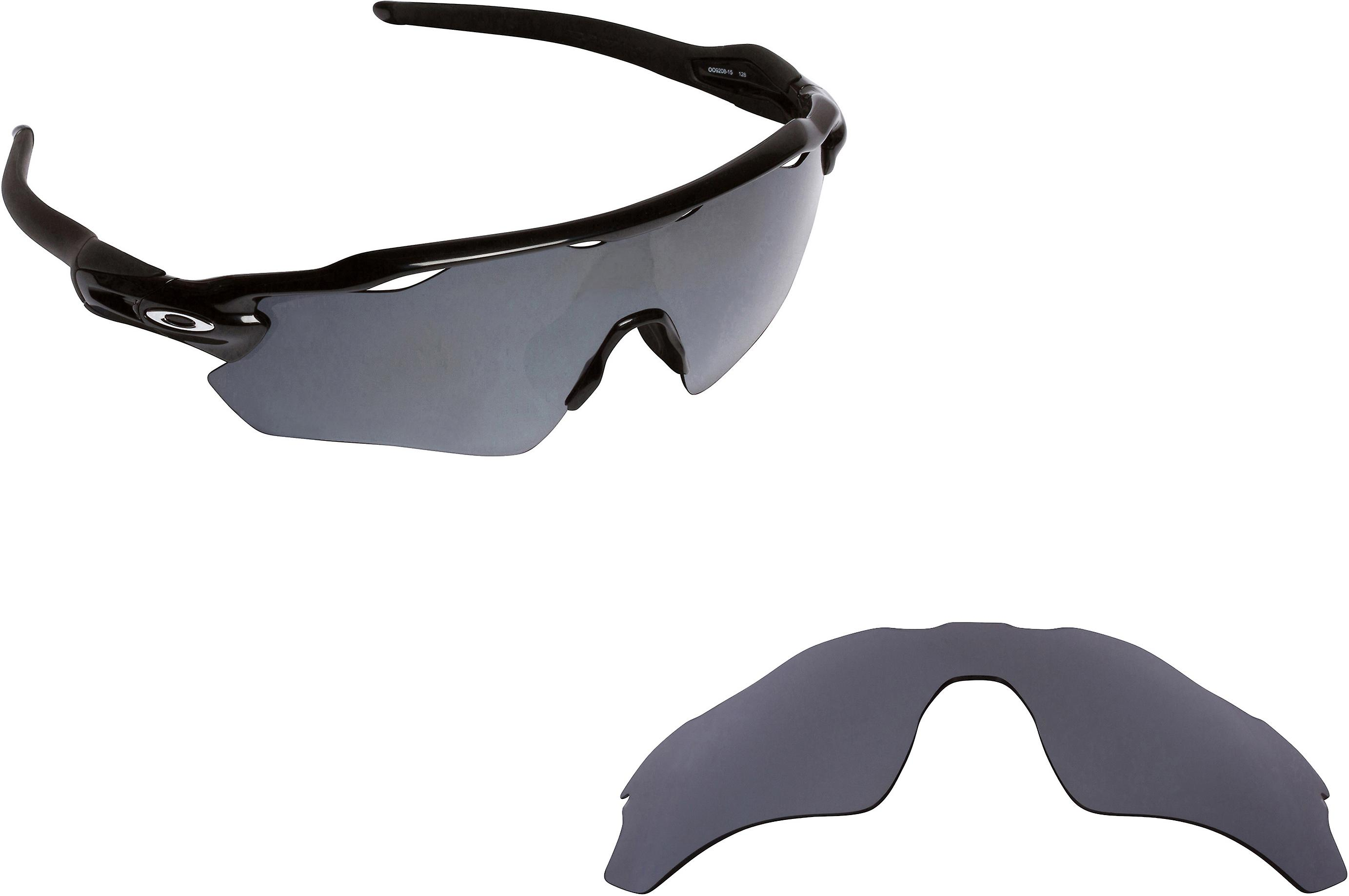 Polarized Replacement Lenses for Oakley Radar EV Path Frame Silver Anti-Scratch Anti-Glare UV400 by SeekOptics