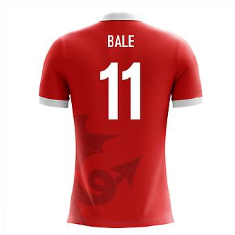 Camisa 2020-2021 Wales Airo Concept Home Shirt (Bale 11) - Kids