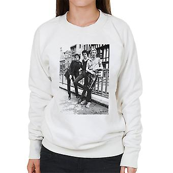 Siouxsie And The Banshees In London 1977 Women's Sweatshirt