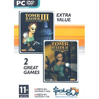 Tomb Raider III Last Revelation Double Pack (PC DVD) - New