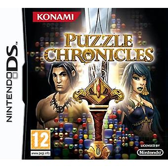 Puzzle Chronicles (Nintendo DS) - Neu