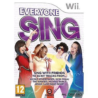 Tout le monde chante (Nintendo Wii) - Nouveau