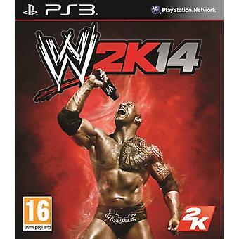 WWE 2K14 (PS3)-nieuw