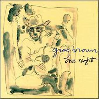 Greg Brown - One Night Live 1982 [CD] USA import