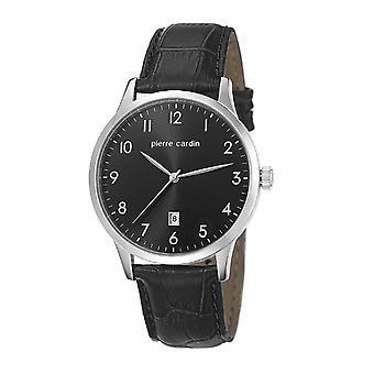 Pierre Cardin reloj pulsera reloj cuero HENRI MARTIN PC106671F01