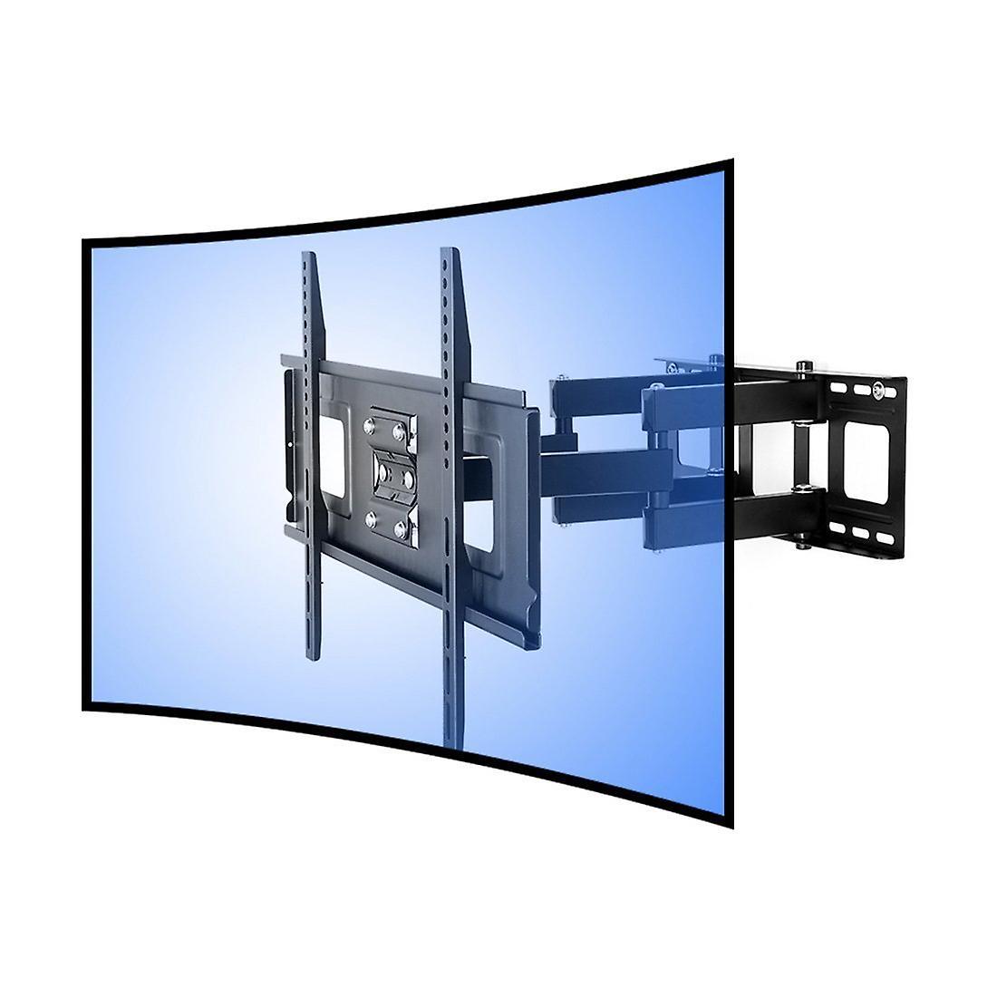 Fleximtellingen Cr1 gebogen paneel articuleren TV muurbeugel-dubbele arm voor 32-65