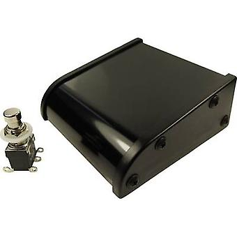 Cliff CL2107C Foot switch 250 V AC 2 A 1-pedal Assembly kit, Convex 2 change-overs 1 pc(s)