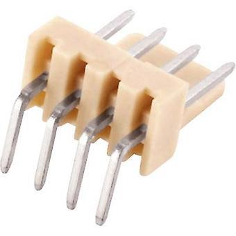 ECON verbinding Pin strip (standaard) totaal aantal pinnen 10 Contact afstand: 2,54 mm PSL10W 1 PC('s)