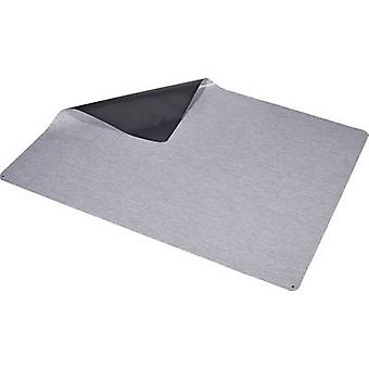 Wolfgang Warmbier 1250.47002. L ESD floormat Grey (L x W x H) 2000 x 1500 x 2 mm incl. PG cable