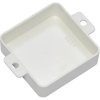 Kemo G059W Universal recinto 40 x 40 x 13 termoplástico branco 1 computador (es)