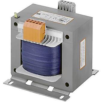 Transformateur de sécurité bloc pape alla 1600/23, commande transformateur, transformateur d'Isolation 1 x 230 V, 400 V 2 x 115 V ca 1600 VA 6.957 mA