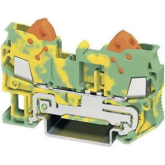 Phoenix Contact QTC 2,5-PE 3206432 Tripleport PG terminal Number of pins: 2 0.5 mm² 2.5 mm² Green, Yellow 1 pc(s)