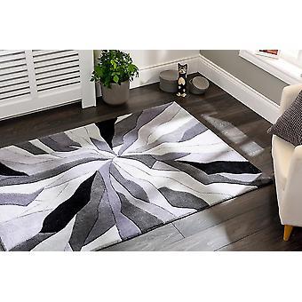 Unendliche Splitter graue Rechteck Teppiche Funky Teppiche