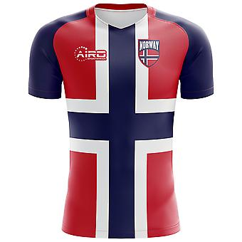 2020-2021 Norway Flag Concept Football Shirt
