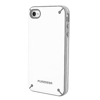 Funda PureGear Slim Shell para iPhone 4/4S - Vainilla Bean