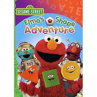 Sesame Street - Elmo's Shape Adventure [DVD] USA import