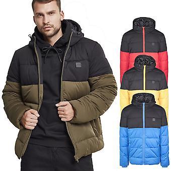 Urban classics - HOODED winter jacket buffer