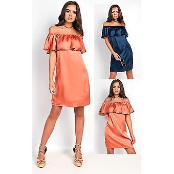 IKRUSH Womens Rhodes Satin Dress
