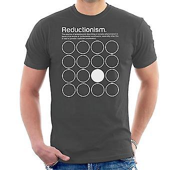 還元主義哲学記号メンズ T シャツ