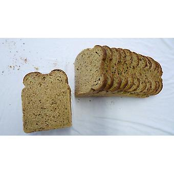 Fosters Frozen Sliced Malted Brown Split Tin Loaves