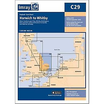 Imray Chart - Harwich to Whitby by Imray - 9781846238352 Book