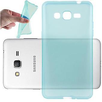 Cadorabo Case for Samsung Galaxy GRAND PRIME Case Cover - Flexible TPU Silicone Case Ultra Slim Soft Soft Back Cover Case Bumper