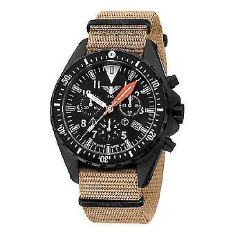 KHS MissionTimer 3 heren horloge horloges veld chronograaf KHS. MTAFC. NT